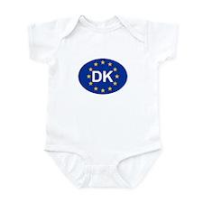 EU Denmark Infant Bodysuit