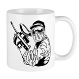 Paintball Small Mugs