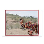 Elephant Card - Blank Postcards (Package o