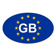 EU UK Decal