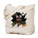 German Shepherd Clown Halloween Tote Bag