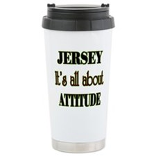 It's all about attitude! Travel Mug