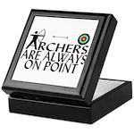 Archers On Point Keepsake Box