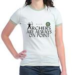 Archers On Point Jr. Ringer T-Shirt