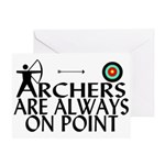 Archers On Point Greeting Card