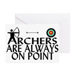 Archers On Point Greeting Cards (Pk of 20)