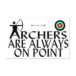 Archers On Point Mini Poster Print