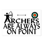 Archers On Point Postcards (Package of 8)