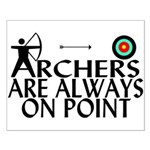 Archers On Point Small Poster