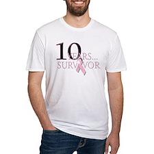 10 Years Breast Cancer Survivor Shirt
