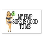 My Pimp Sticker (Rectangle 10 pk)