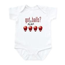 Got (Big Red) Balls? Infant Bodysuit
