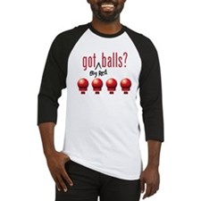 Got (Big Red) Balls? Baseball Jersey