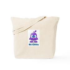 RA Purple Cute Chicky Tote Bag