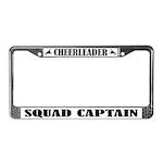 Cheeleader Squad Captain License Frame