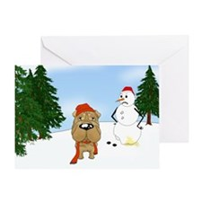 Shar-Pei Holiday Greeting Card
