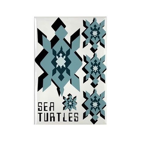 Tech Turtles Rectangle Magnet (100 pack)