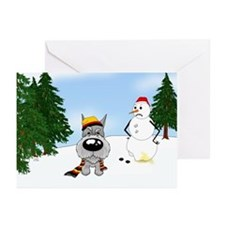 Schnauzer Holiday Greeting Cards (Pk of 20)