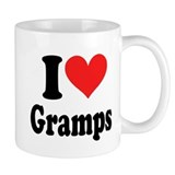 I Heart Gramps: Small Mug