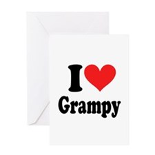 I Love Grampy: Greeting Card