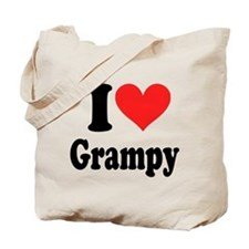 I Love Grampy: Tote Bag