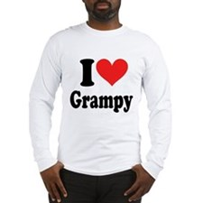 I Love Grampy: Long Sleeve T-Shirt