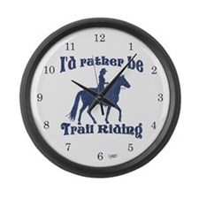 Rather Be Large Wall Clock