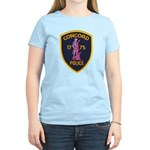 Concord Massachusetts Police Women's Light T-Shirt