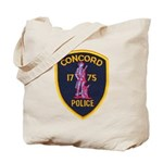 Concord Massachusetts Police Tote Bag