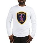 Concord Massachusetts Police Long Sleeve T-Shirt