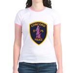 Concord Massachusetts Police Jr. Ringer T-Shirt