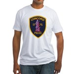Concord Massachusetts Police Fitted T-Shirt