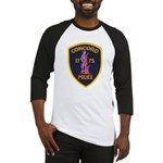 Concord Massachusetts Police Baseball Jersey
