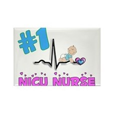 MORE NICU Nurse Rectangle Magnet