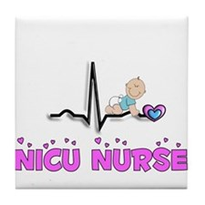 MORE NICU Nurse Tile Coaster