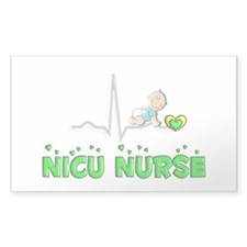 MORE NICU Nurse Decal
