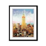 New York City Picture Framed Panel Print