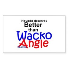 Sharron Angle Decal