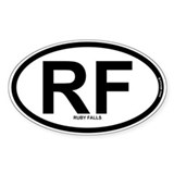 RF - Ruby Falls Decal