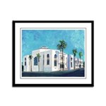 Ohr Shalom Synagogue Framed Panel Print
