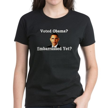 Embarrased Yet? Women's Dark T-Shirt
