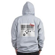 animal liberation...NOW Zip Hoodie