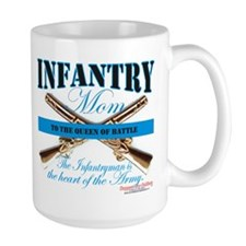 Infantry Mom IN Infantryman Mug
