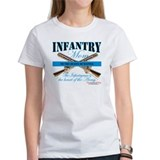 Infantry Mom IN Infantryman Tee