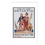 Britannia Friends Poster Art Postcards (Package of