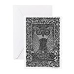 Owl Greeting Cards (Pk of 10)