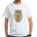 Owl White T-Shirt
