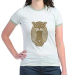 Owl Jr. Ringer T-Shirt