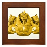 Golden Pharaohs Framed Tile