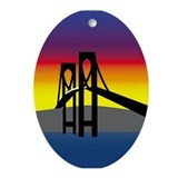 bridge Oval Ornament